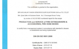 Universial AG Sertifikasi